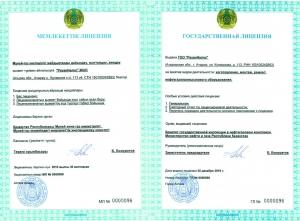 Государственная лицензия, на изготовление, монтаж, ремонт нефтегазопромыслового оборудования